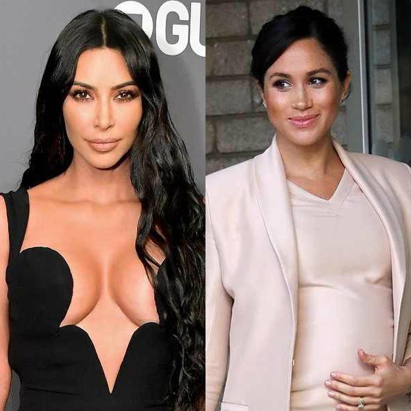 Kim Kardashian, Meghan Markle