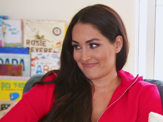 Nikki Bella Contemplates Going on a Date With Taye Diggs on <i>Total Bellas</i>: &quot;He's Hot!&quot;