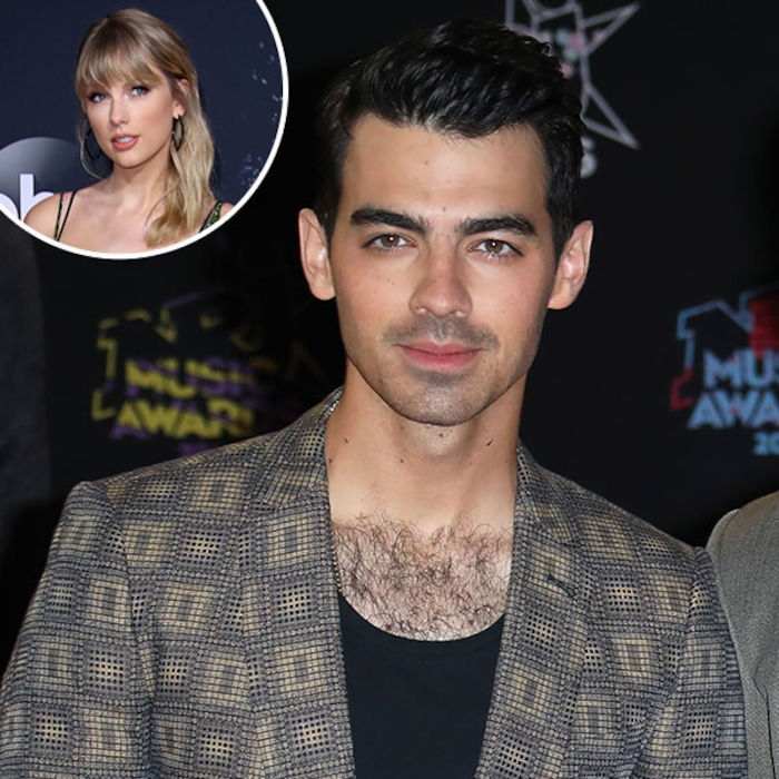 Taylor Swift S Ex Joe Jonas Put His Own Hilarious Spin On Lover E Online