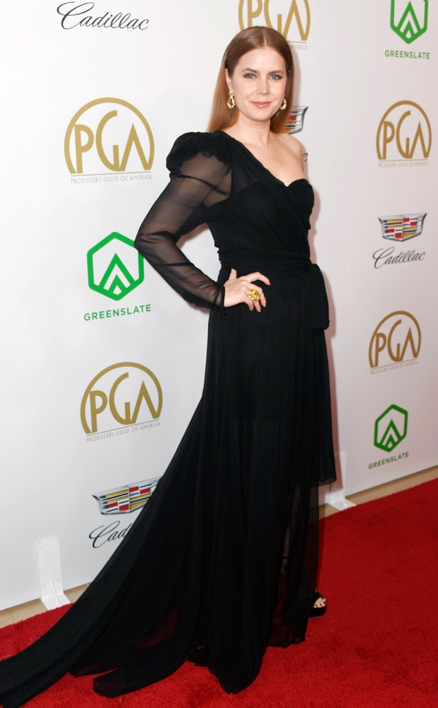 2019 Producers Guild Awards - The Master  actress made a statement in a Dundas dress for the awards ceremony.
