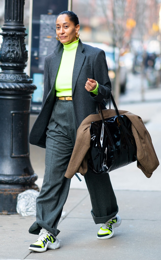 Tracee Ellis Ross -  Nice neon!