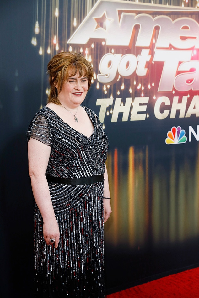"""Susan Boyle -  A  Britain's Got Talent  runner-up, Susan Boyle became an internet sensation after her original audition went viral. Her rendition of """"I Dreamed a Dream"""" is still wowing the judges and audiences around the world."""
