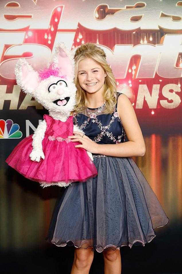 Darci Lynne Farmer -  Darci Lynne Farmer, the pint-sized singing ventriloquist, won season 13 of  AGT .