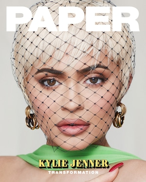 Embargoed until 2.19 Kylie Jenner, PAPER