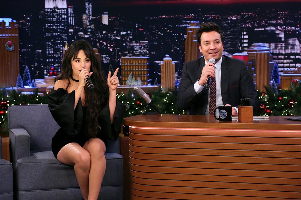 Camila Cabello, Jimmy Fallon, The Tonight Show