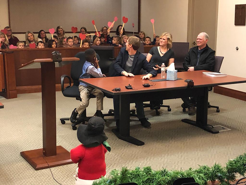 Michael J. Clark, Adoption, Viral