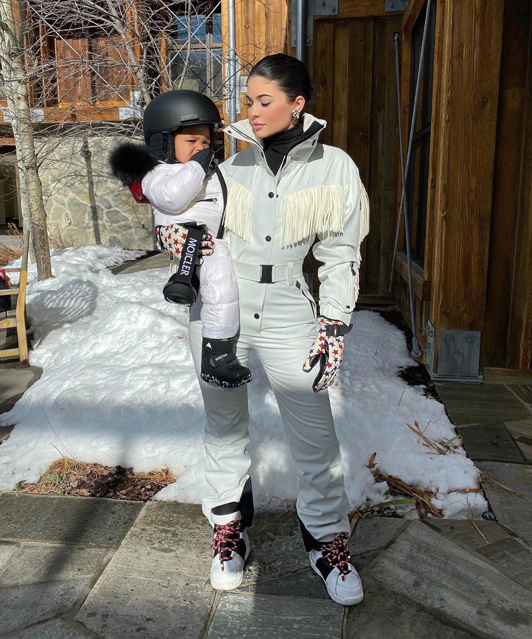 Kylie Jenner, Stormi Webster, Instagram