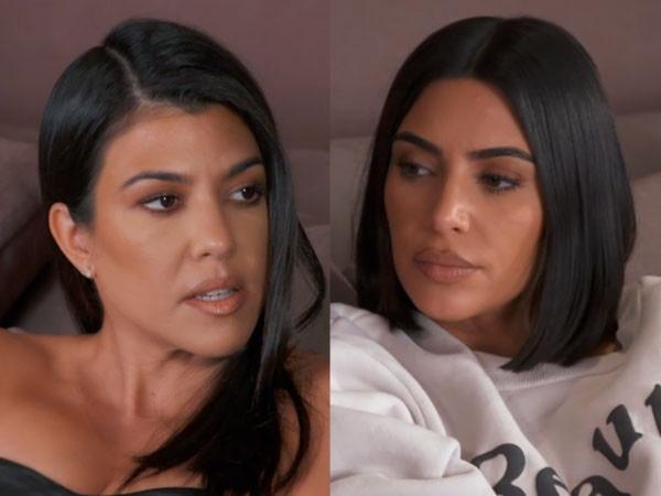 Kim and Khloe Kardashian Threaten to Cut Kourtney from <i>KUWTK</i> After Filming Fight