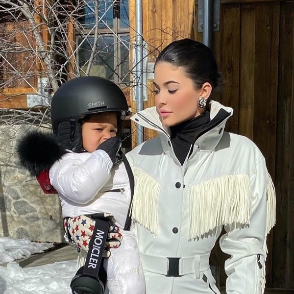 Kylie Jenner, Stormi Webster, Instagram