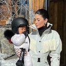 Kylie Jenner and Stormi Webster's Trip to the Snow