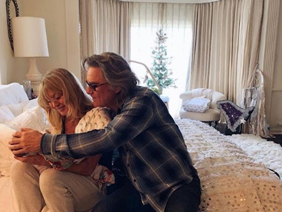 Revisiting Goldie Hawn and Kurt Russell's Storybook Romance Through the Years