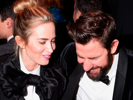 Emily Blunt and John Krasinski Were Twinning at Writers Guild Awards 2019