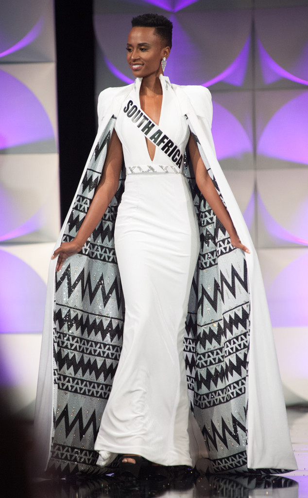 Miss Universe 2019, Prelims, Evening Gown, Miss South Africa, Zozibini Tunzi