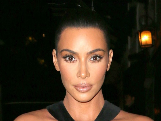 Kim Kardashian Debuts Her Most Shocking Dress Yet (and Avoids a Wardrobe Malfunction)
