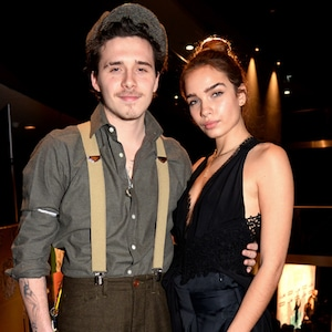 Brooklyn Beckham, Hana Cross, London Fashion Week 2019