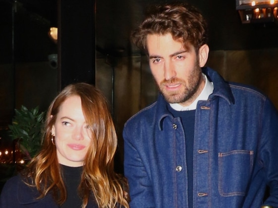 Emma Stone Flashes Engagement Ring at <i>SNL</i> After-Party with Fiancé Dave McCary