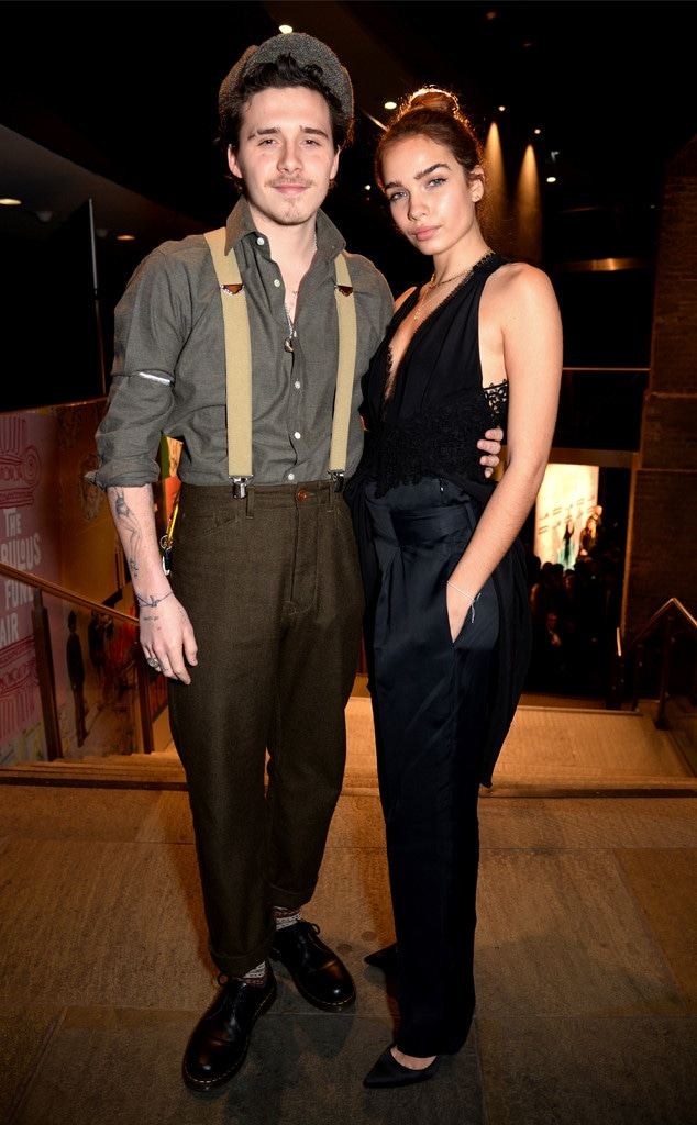 Brooklyn Beckham, Hana Cross, London Fashion Week Parties