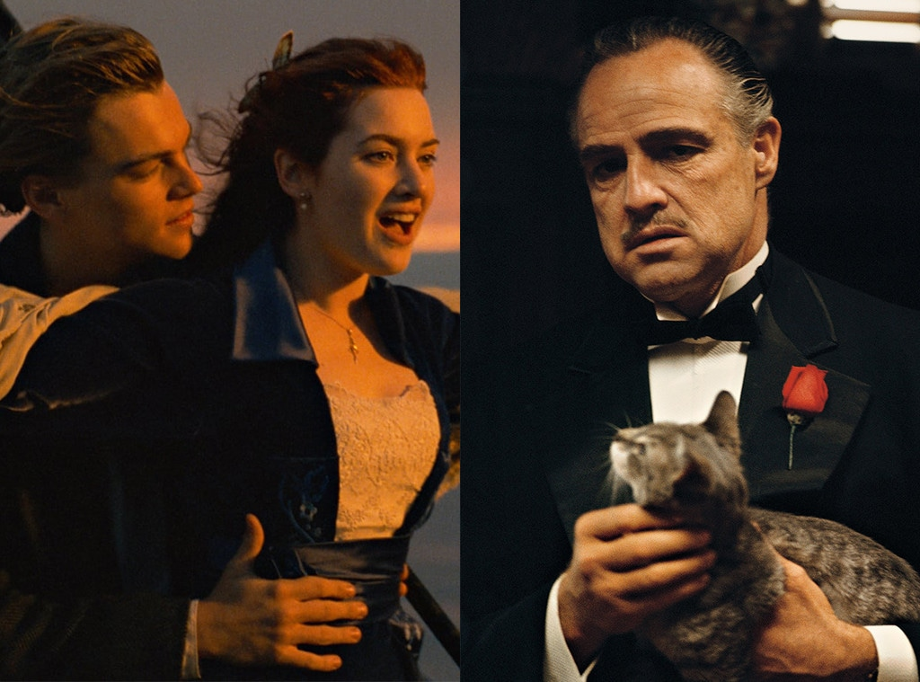 Titantic, The Godfather