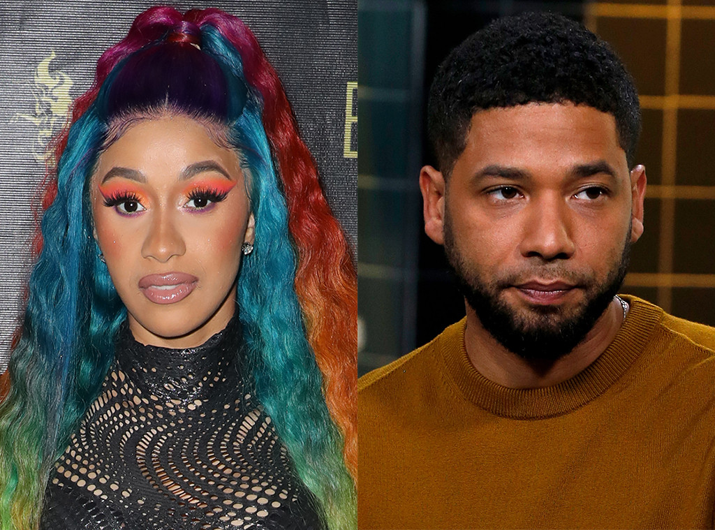 Cardi B Slams Jussie Smollett Over Claims He Staged Attack