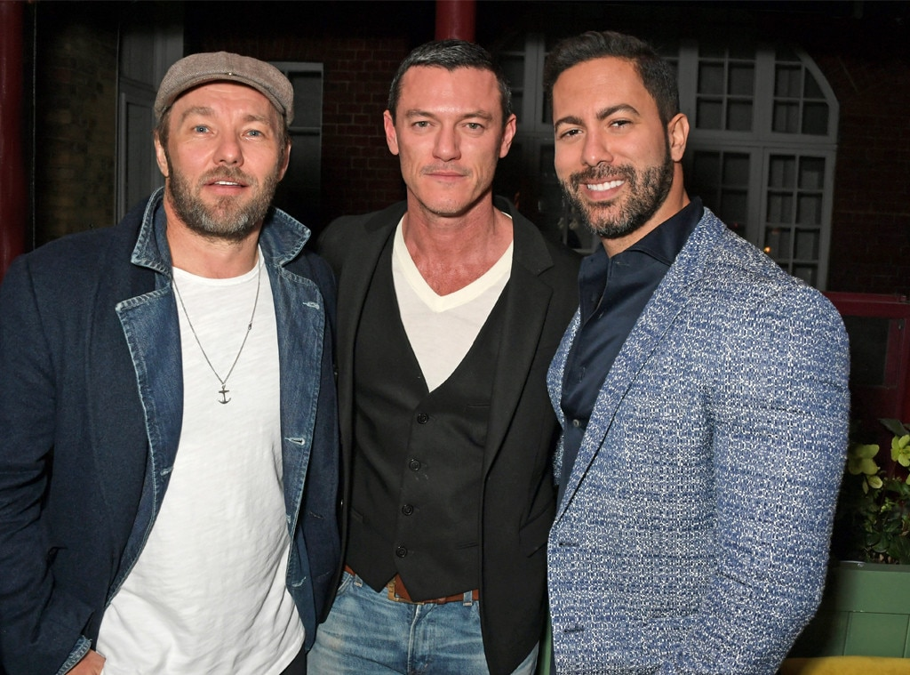 Joel Edgerton, Luke Evans & Victor Turpin -  Attended the Victoria Beckham x YouTube Fashion & Beauty after party on Feb. 17, 2019.