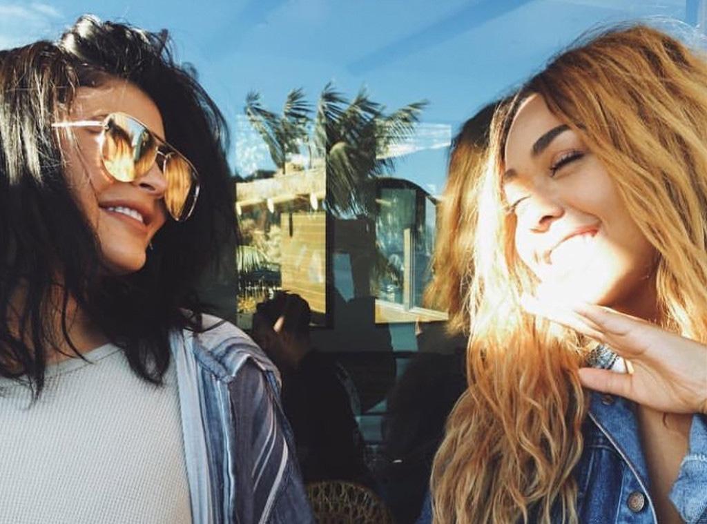 Jordyn Woods, Kylie Jenner, Instagram
