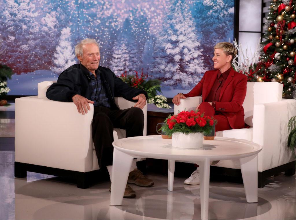 Ellen DeGeneres, Clint Eastwood