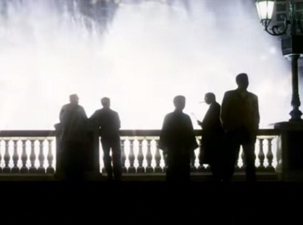 Ocean's Eleven Franchise - Ocean's Eleven - 2001, Bellagio Fountain scene