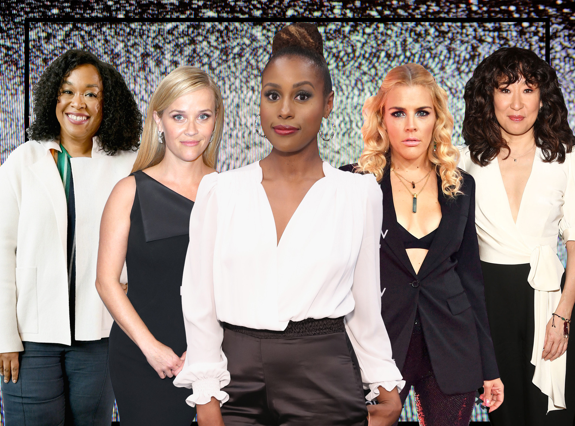 Women Changing TV, Reese Witherspoon, Shonda Rhimes, Sandra Oh, Issa Rae, Busy Philipps