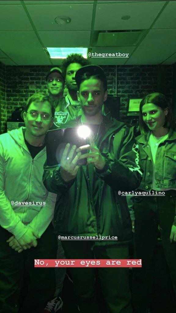 Pete Davidson, Carly Aquilino, Instagram