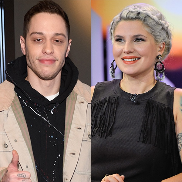 Pete Davidson Reunites With His Ex-Girlfriend Carly Aquilino - E! NEWS
