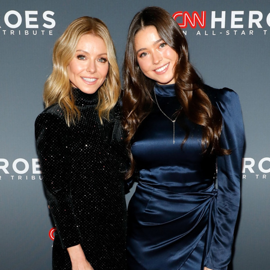 "Kelly Ripa's Daughter Lola Consuelos Calls ""Thirst Trap"" Photos of Mark Consuelos ""Disgusting"" - E! NEWS"