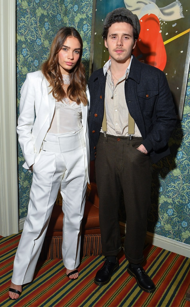 Brooklyn Beckham & Hana Cross -  Attended the Victoria Beckham x YouTube Fashion & Beauty after party on Feb. 17, 2019.