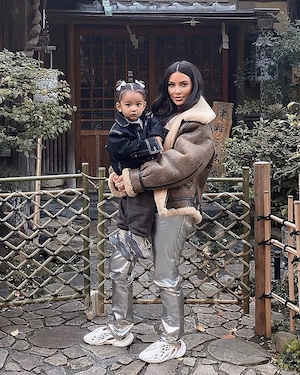 Kim Kardashian, Chicago West, Instagram