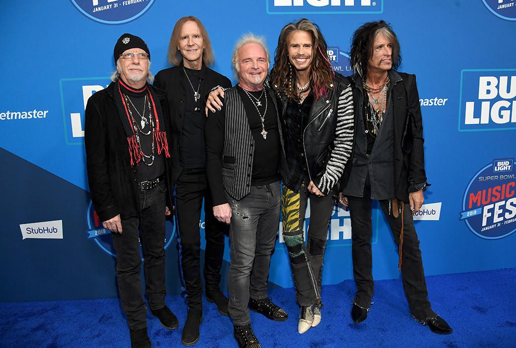 Aerosmith, 2019 Super Bowl Party
