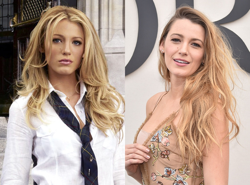Blake Lively, Gossip Girl, Then and Now