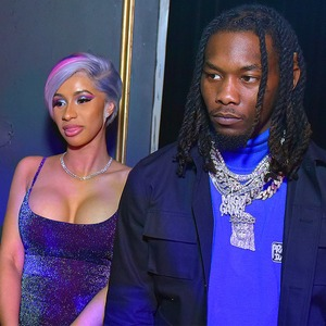 Cardi B, Super Bowl Party, Offset