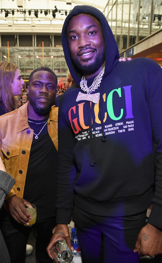 Meek Mill, Kevin Hart, Super Bowl Party