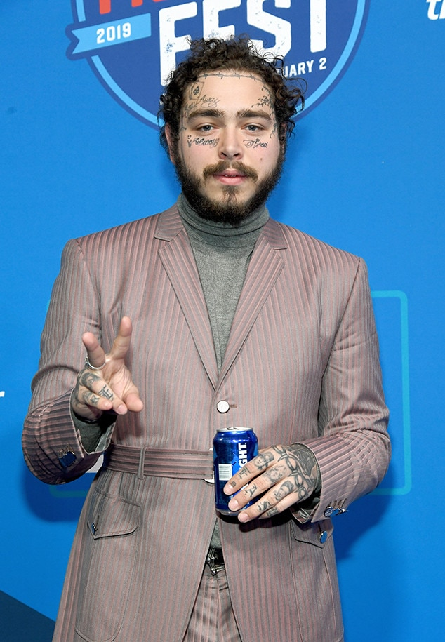 Post Malone, 2019 Super Bowl Party