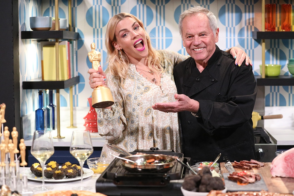 Wolfgang Puck -  The celebrity chef  shows Busy how to make some Oscars-worthy dishes  ahead of the 2019 Academy Awards.