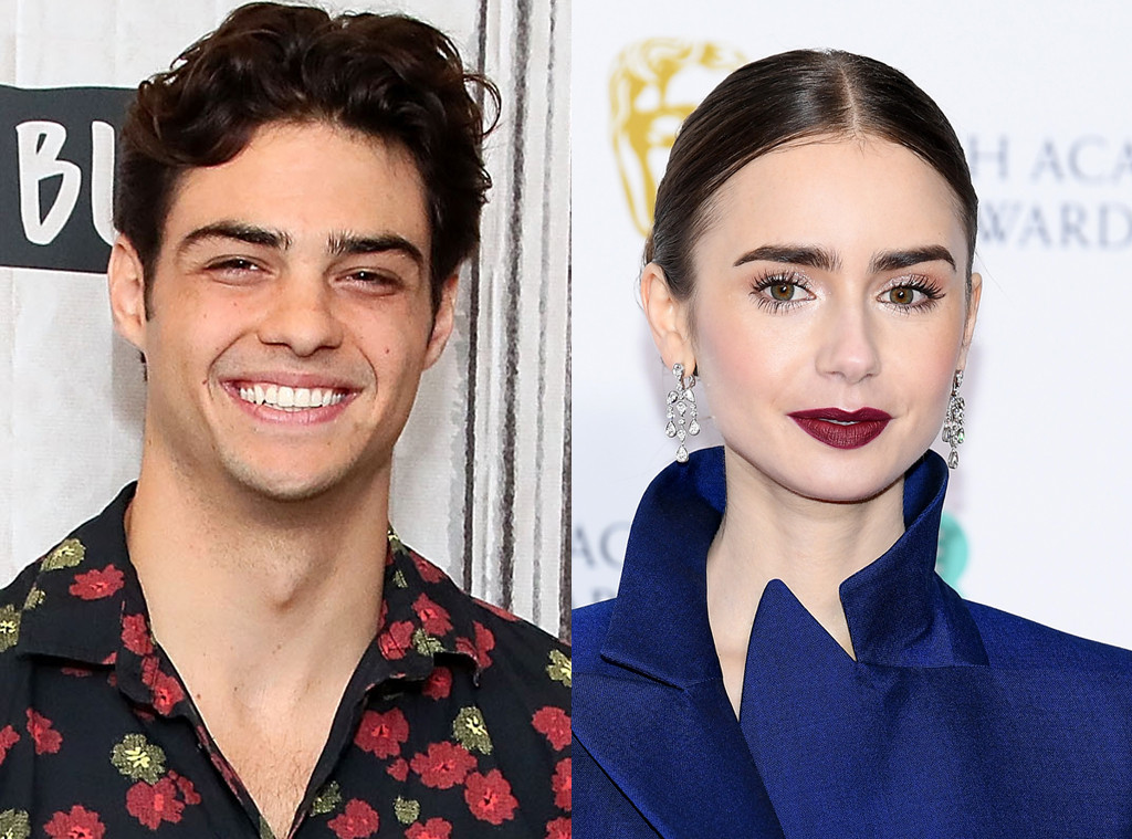 Noah Centineo And Lily Collins Get Flirty On Instagram E News