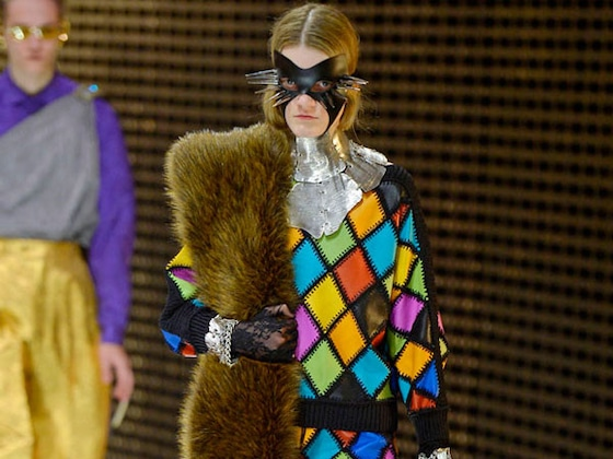 Jason Masks, Tears and Spikes: The Fall 2019 Gucci Collection May Give You Nightmares
