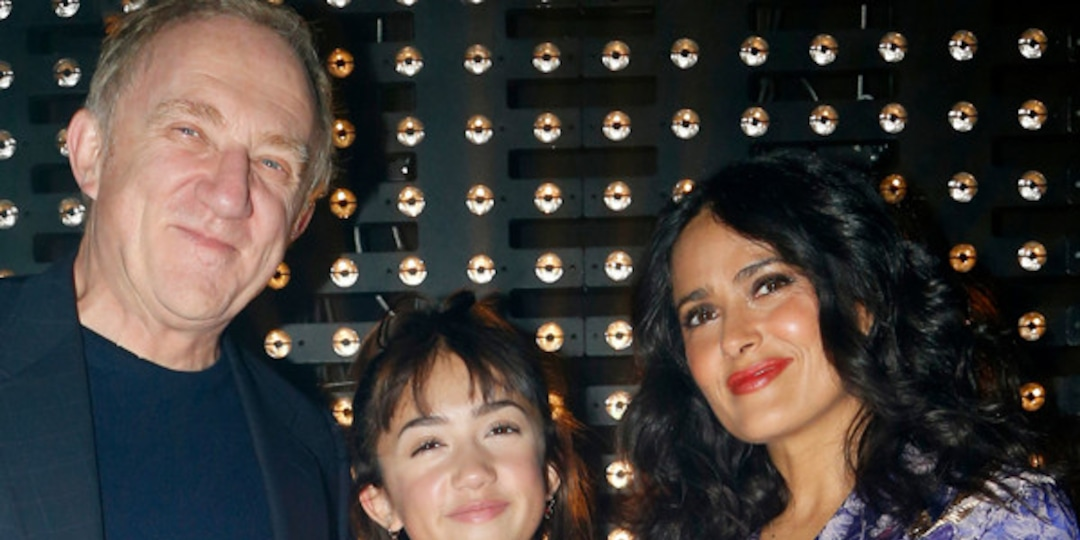See Salma Hayek Make Rare Red Carpet Appearance With 14-Year-Old Daughter Valentina - E! Online.jpg