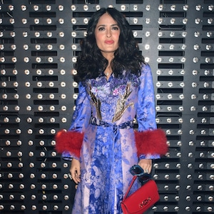 Salma Hayek, Gucci Show, Milan Fashion Week 2019