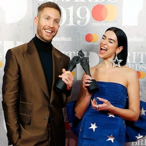Calvin Harris, Dua Lipa, Brit Awards 2019