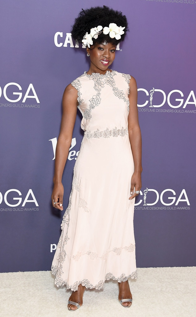 Danai Gurira, 2019 Costume Designers Guild Awards