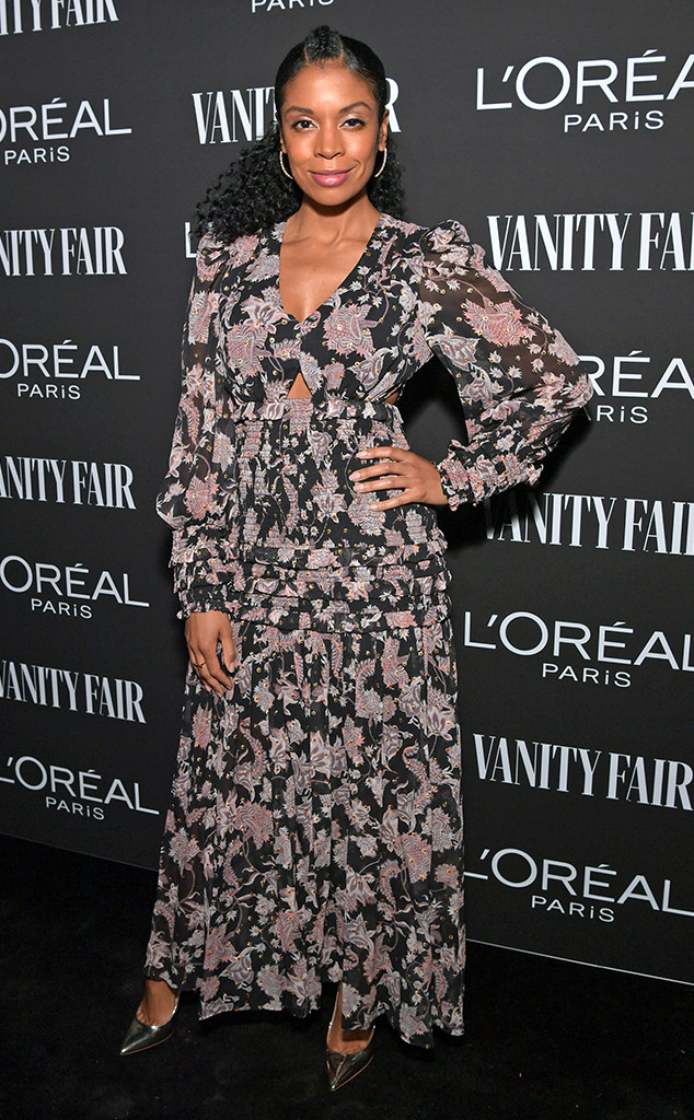 Susan Kelechi Watson, Vanity Fair and LOréal Paris Pre-Oscars Party
