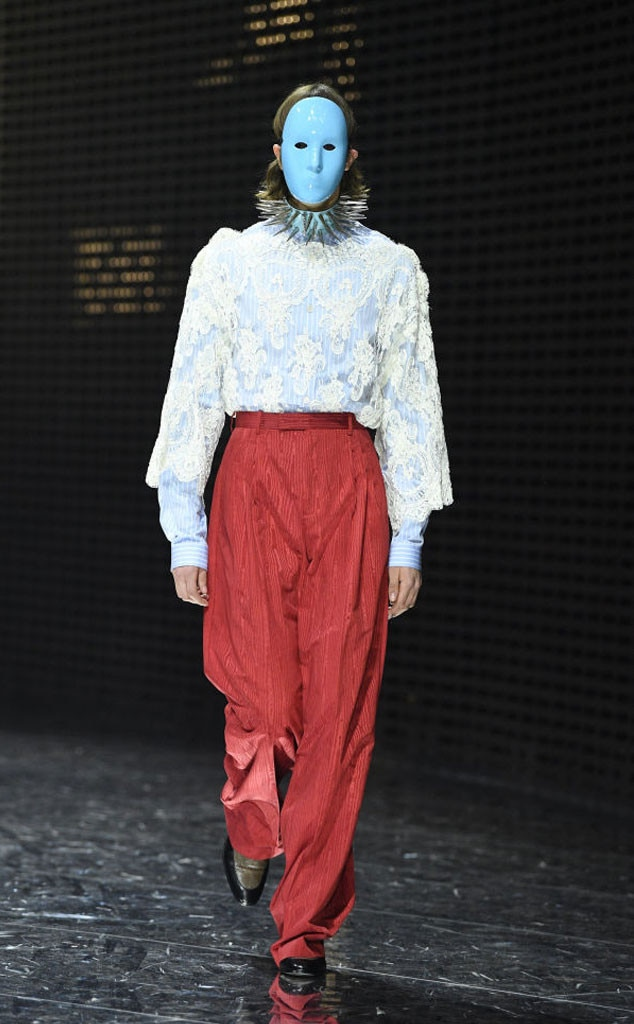 43bb1146efc Masked Moment from Fall 2019 Gucci Collection