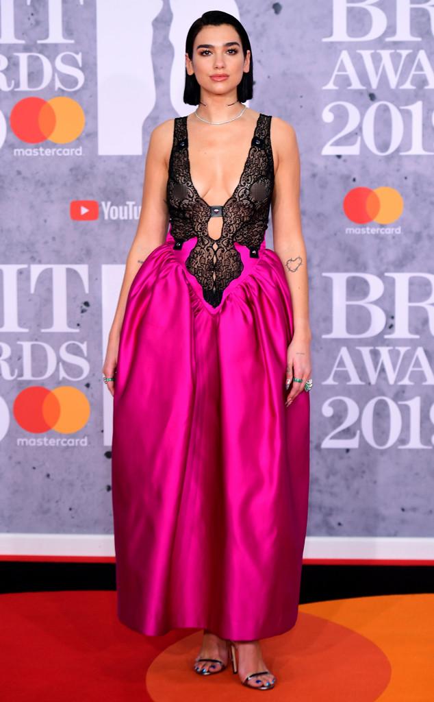 Dua Lipa, Brit Awards 2019