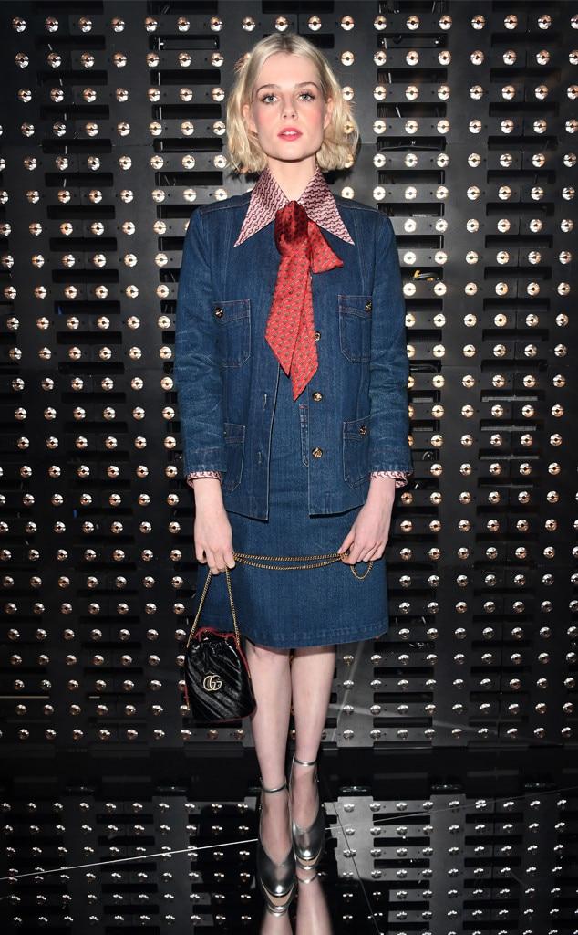 Lucy Boynton, Milan Fashion Week 2019