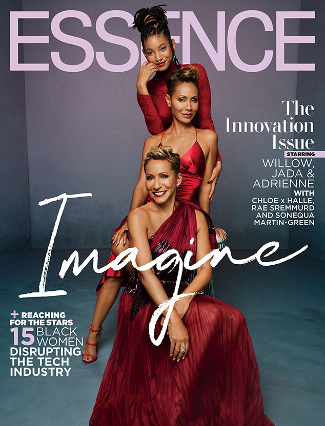 Jada Pinkett Smith, Willow Smith, Adrienne Banfield-Norris